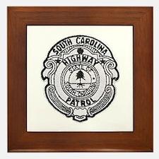 South Carolina Highway Patrol Framed Tile