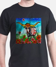 RobiniArt Texas Longhorn T-Shirt