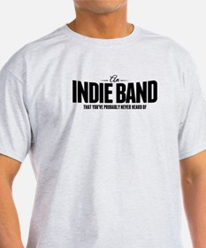 An Indie Band T-Shirt