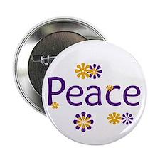 Peace Design Button