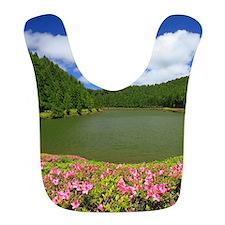 Lake and azaleas Bib