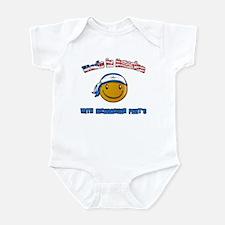 Made in America Nicaraguan pa Infant Bodysuit