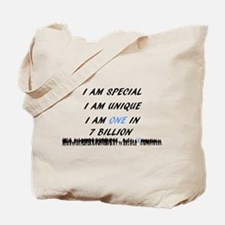 Cute Asperger Tote Bag