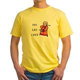 Ho lee chit Mens Yellow T-shirts
