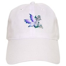 Blue Wing Fairy Baseball Cap