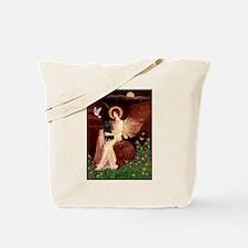 Angel (#1) & Schipperke Tote Bag
