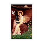 Angel (#1) & Schipperke Sticker (Rectangle)