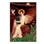 Angel (#1) & Schipperke Postcards (Package of 8)