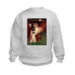Angel (#1) & Schipperke Kids Sweatshirt