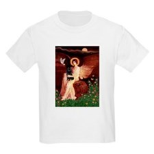 Angel (#1) & Schipperke T-Shirt