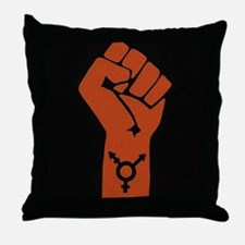 Transgender Solidarity Throw Pillow