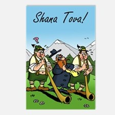 For Rosh Hashanah Postcards (package Of 8)