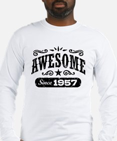 Awesome Since 1957 Long Sleeve T-Shirt