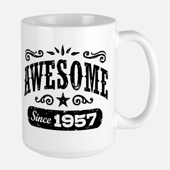 Awesome Since 1957 Large Mug