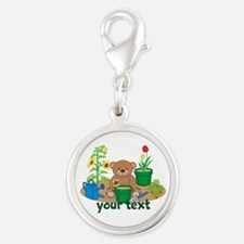 Personalized Garden Teddy Bear Charms