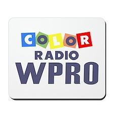 WPRO Providence '65 - Mousepad