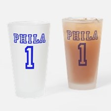 PHILADELPHIA #1 Drinking Glass