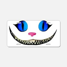 Funny Smiling cat Aluminum License Plate