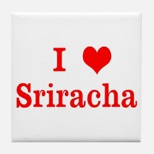 Sriracha Love Tile Coaster