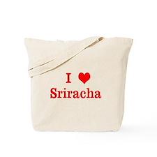 sriracha love Tote Bag