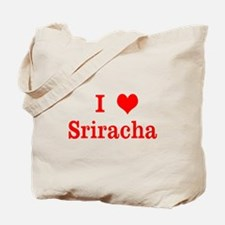 sriracha love Tote Bag