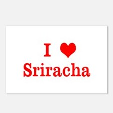 sriracha love Postcards (Package of 8)