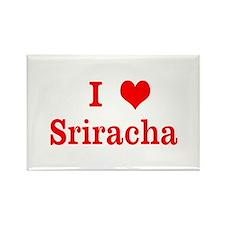 sriracha love Magnets