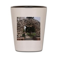 Elk antler arch Shot Glass