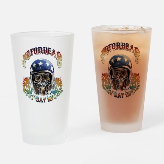 JUST SAY NITRO! Drinking Glass