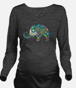 Cool Animal Long Sleeve Maternity T-Shirt