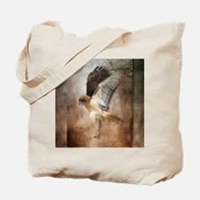 Evening Hawk Tote Bag