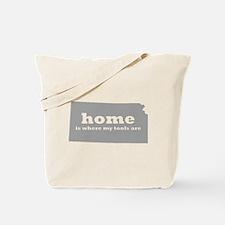 KS home is where tools Tote Bag