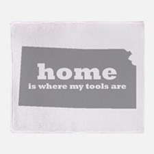 Ks Home Is Where Tools Throw Blanket