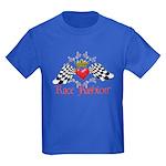 Race Fashion.com LOGO Kids Dark T-Shirt