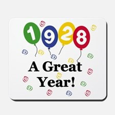 1928 A Great Year Mousepad