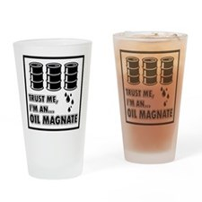 Oil Magnate Drinking Glass