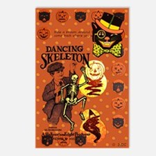 Retro Halloween Postcards (package Of 8)
