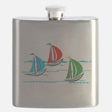 Funny Sailing Flask