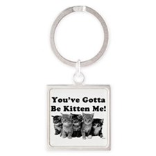 Gotta Be Kitten Me! Light Keychains