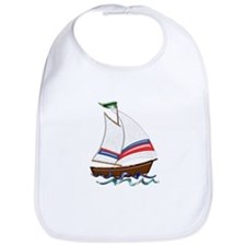Unique Sailboats Bib