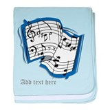 Baby boy musical Blanket