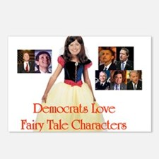 Hillary and 7 Dwarfs Postcards (Package of 8)