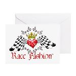 RaceFashion.com LOGO Greeting Cards (Pk of 10)