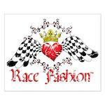 RaceFashion.com LOGO Small Poster