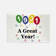 1931 A Great Year Rectangle Magnet
