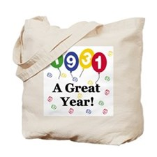 1931 A Great Year Tote Bag