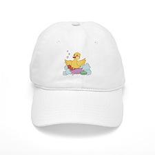 Duck in Bath Baseball Baseball Cap