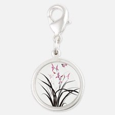 Chinese Orchids Charms