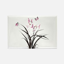 Chinese Orchids Magnets