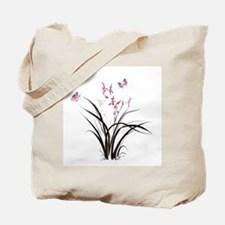 Chinese Orchids Tote Bag